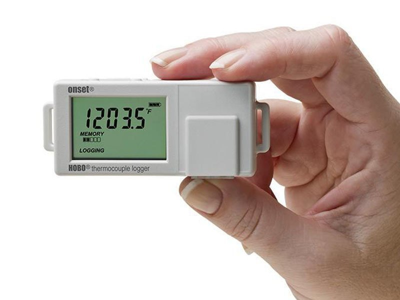 Data Logger com Canal Único para Termopar Tipo J, K, S, T, E, R, B, N UX100-014M