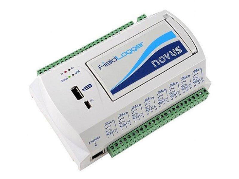 FieldLogger - Módulo de Aquisição e Registro de Dados - 512K, 24V, Interface RS485, Ethernet e USB