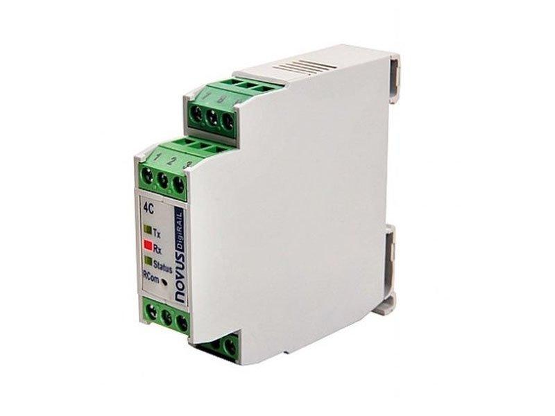 Condicionador de Sinais - DigiRail 2A (2 Entradas Analógicas e 1 Saída RS485 Modbus)