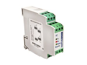 Condicionador de Sinais - DigiRail 2R (2 Saídas a Relé e 1 Entrada RS485 Modbus)