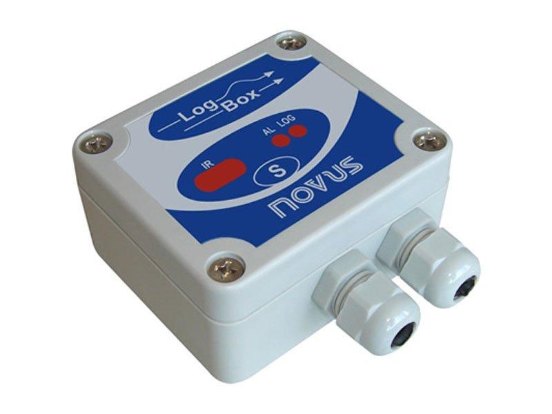 Data Logger Eletrônico de Sinais Analógicos LogBox-AA, 64K, IP65