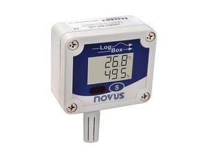 Data Logger Eletrônico de Umidade e Temperatura LogBox-RHT-LCD