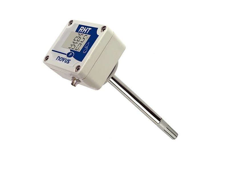 Sensor de Temperatura e Umidade Digital RHT-DM-485-LCD (250 mm)