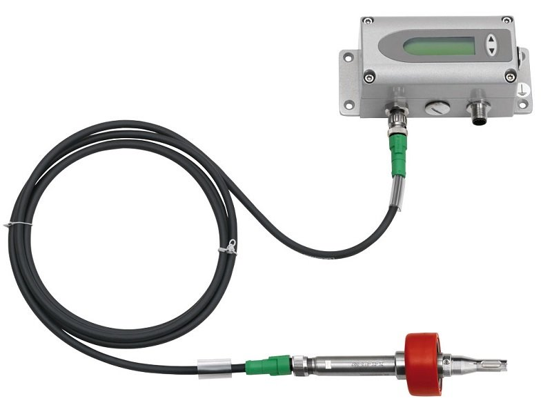 Sensor de Vazão de Ar Comprimido e Gases Não Corrosivos EE771