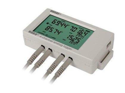 Datalogger Analógicocom 4 entradas analógicas de 16bits com 4 Mega de memória, display e porta USB