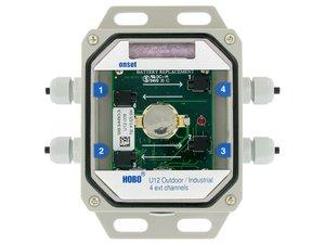DataLogger de Temperatura Com 4 Sensores de Temperatura PT100 U12-008