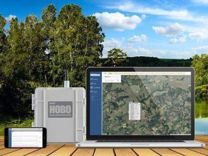 Poderoso acesso à Internet para os sistemas de monitoramento remoto HOBO RX3000