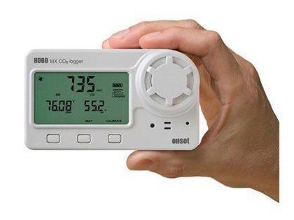 Termo-Higrômetro Digital com Data Logger e Sensor de CO2 com Bluetooth MX1102