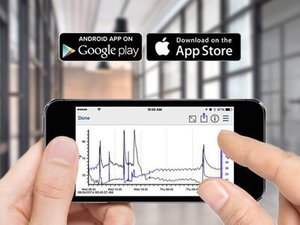 Configuração fácil de registro e gerenciamento de dados para o seu dispositivo móvel iOS ou AndroidTM