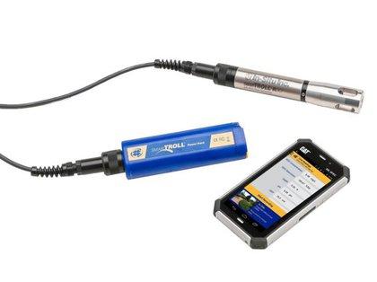 sonda de qualidade da água, oxigênio dissolvido, barométrica, temperatura do ar, SmarTROLL RDO Portátil