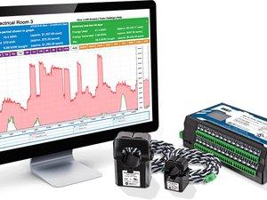 Medidor de Consumo de Energia com envio de dados em tempo real EG411x + T-EG-xxx