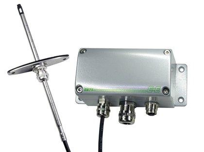 Sensor de Fluxo de Ar de Alta Precisão para Aplicações Industriais EE75