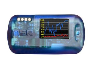 Data Logger sem fio com bluetooth, Display e MSR SmartCloud MSR145WD