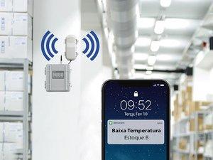 Estação Meteorológica Com Sensores Sem Fio Para Estufa e Almoxarifado EMW-EA