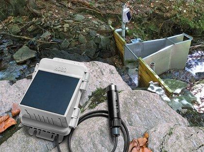 Estação Linimétrica Completa Onset com telemetria de dados MicroRX-2104