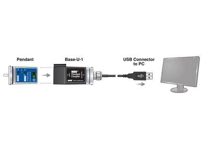 Data Logger Temperatura/Luminosidade 64K Hobo Pendant UA-002-64