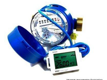 Datalogger para Mesurar Fluxo de Água em Hidrometros de Contato Seco ou Pulsos.