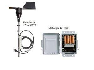 HOBO Data LoggerH21-USB com sensor de Direção do Vento - ComunicaçãoUSB